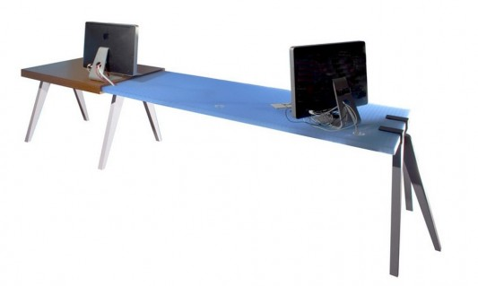 contemporary clamp modular office desk ideas