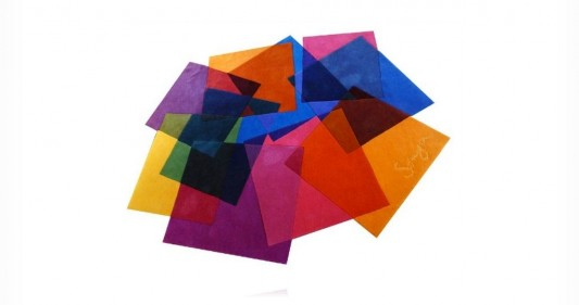 contemporary colored rugs by Sonya Winner