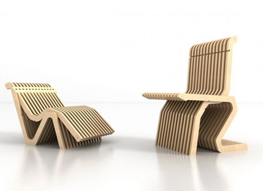 contemporary convertible lounge chair design