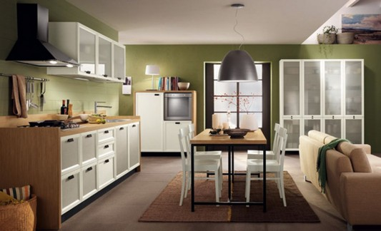 contemporary kitchen and dining room decorating ideas