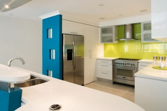 Colorful Kitchen Decoration Ideas, Beach House Kitchen by ... on best way to decorate over cabinets kitchen, ideas to clean kitchen, ideas to organize kitchen, ideas to renovate kitchen, colors to decorate kitchen, ideas to remodel kitchen,