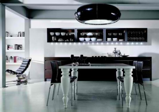 contemporary kitchen rosewood advanced kitchen design from aster cucine   home design inspiration  rh   theluxhome com