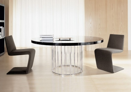 Modern exclusive dining table with luxurious and elegant for Exclusive dining table designs