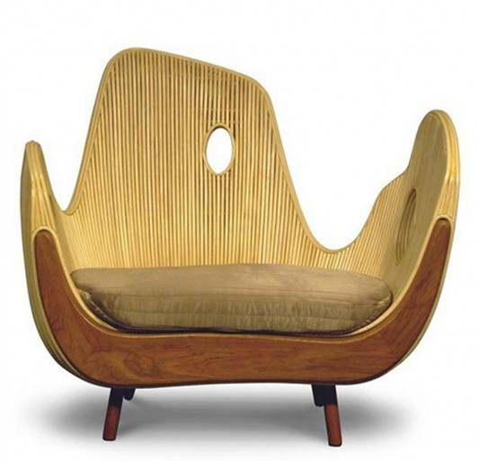 Superb Contemporary Outdoor Arm Chair Unique And Artistic Design. Contemporary  Patio Furniture ...