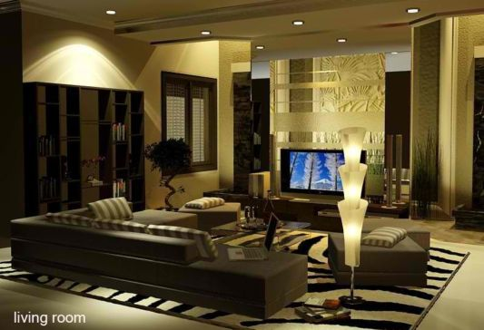 This Concept Of Luxury Residential Interior Like