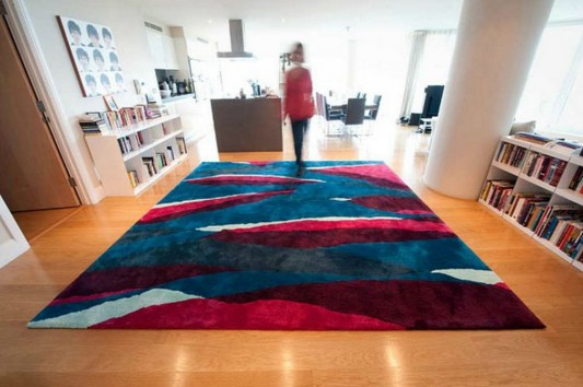 contemporary rugs design by Sonya Winner