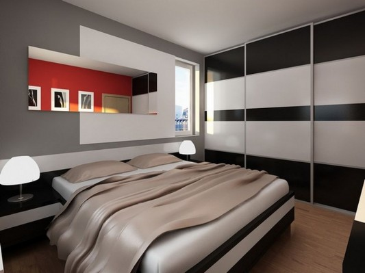 UltraSmall Apartment With Modern Interior Design Ideas By Neopolis Stunning Small Contemporary Bedrooms Concept Design
