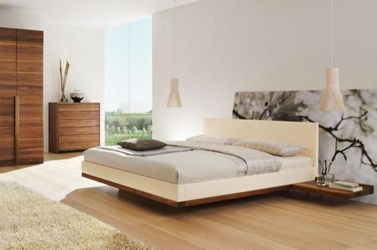 contemporary solid beech bedroom furniture design ideas