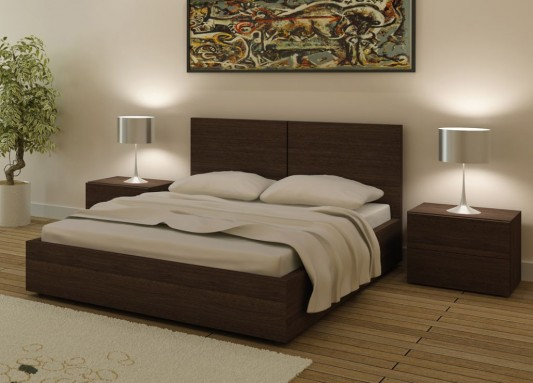 Furniture Design Beds storage contemporary design double bed, aura bed from go modern