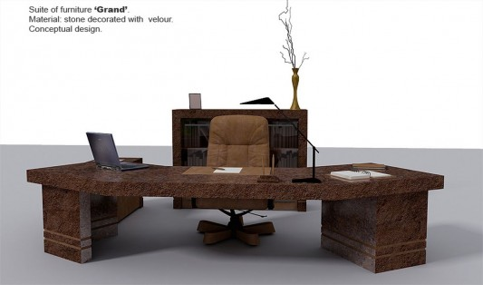 contemporary unique office director furniture concept