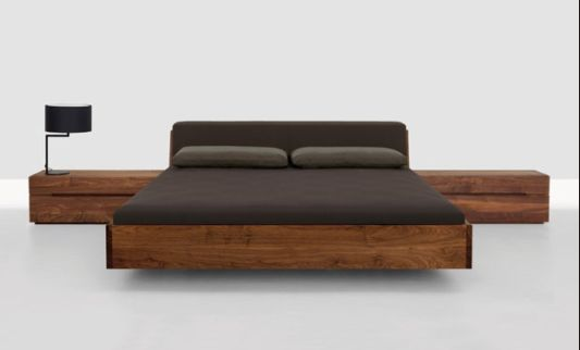 contemporary wooden beds ideas