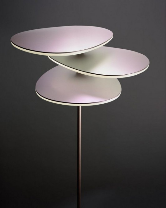 coral floor lamps LED lighting design detailed