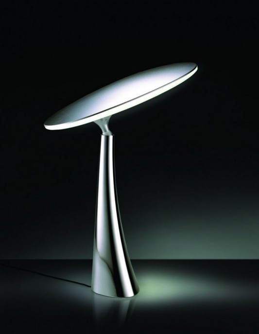 coral reff table lamps with LED light in minimalist design