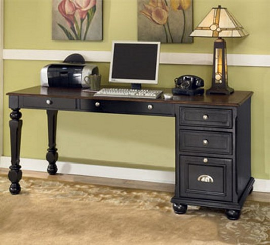 Classic Office Furniture Design with Country Style by Ashley