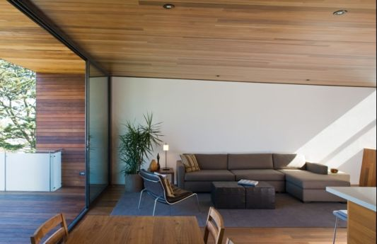cozy living room at choy residence