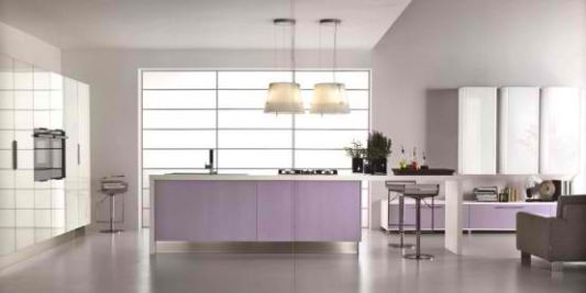creative kitchen interior design for women's desire
