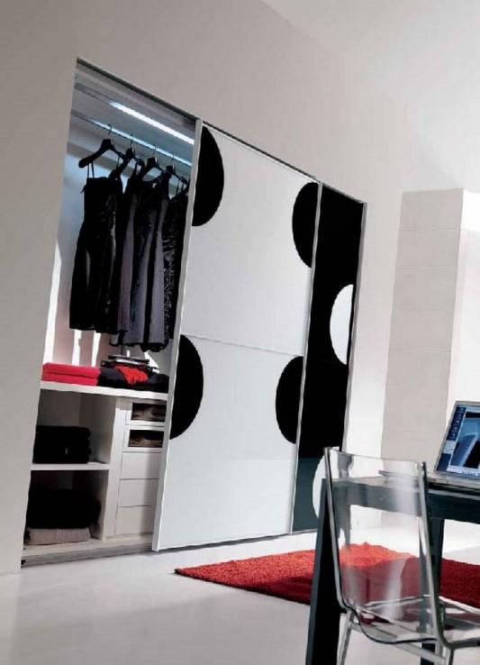 creative modern Italian sliding wardrobes designs