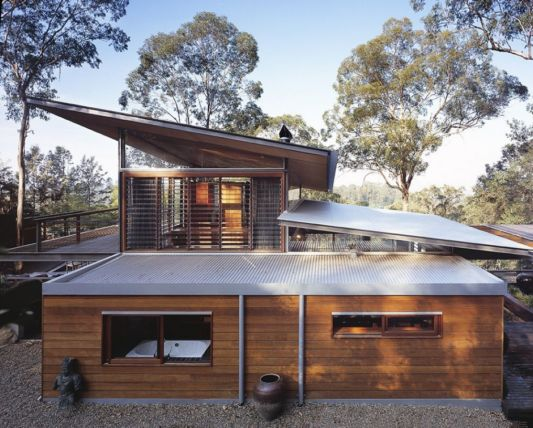 Contemporary Wooden House, Bowen Mountain Custom House by CplusC ...