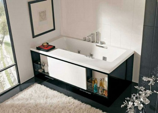 drawer boardroom acrylic blend with cool bathtub
