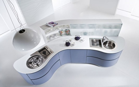 Futuristic And Modern Kitchen Decorating Ideas Dune Kitchen By