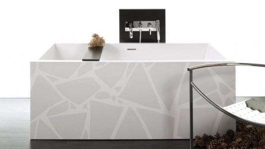 earth motifs contemporary free standing bathtubs beautiful design