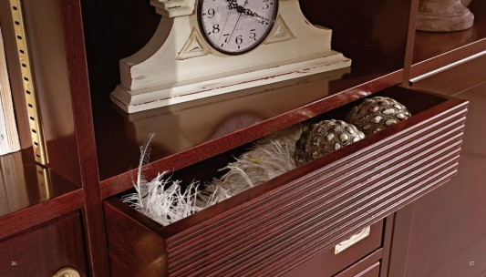 elegant and luxurious cabinet drawer