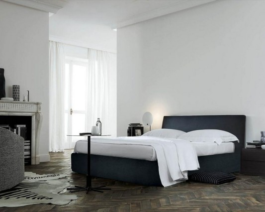 elegant and luxurious modern double bed design
