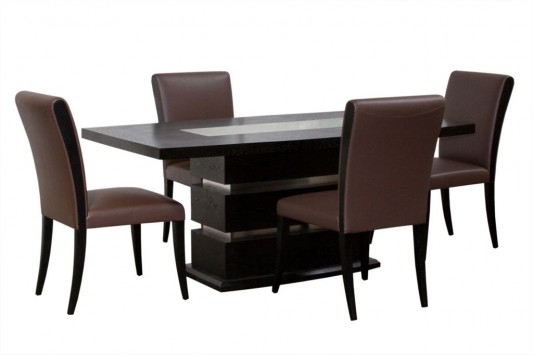elegant and luxurious table and chair dining room furniture set