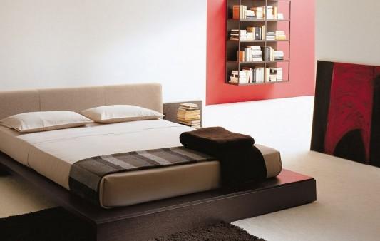 elegant and stylish Italian bed design