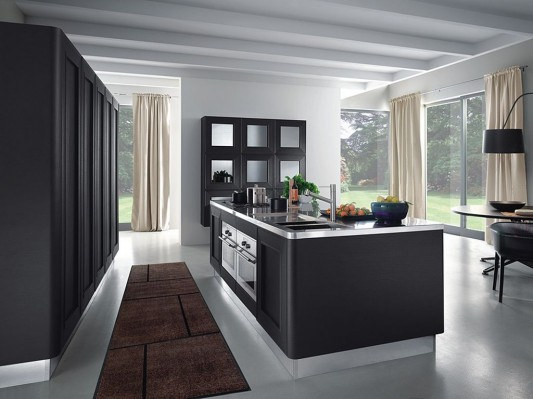 elegant classic contemporary kitchen design by composit