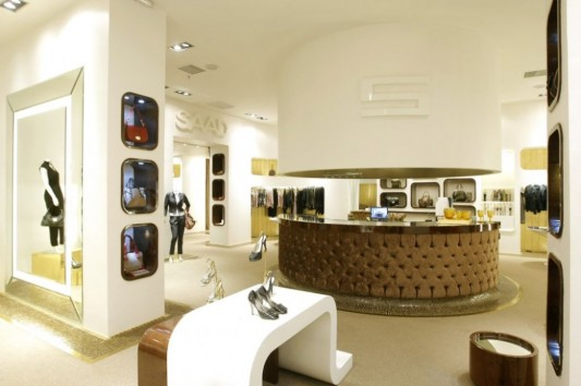 elegant interior shop high class