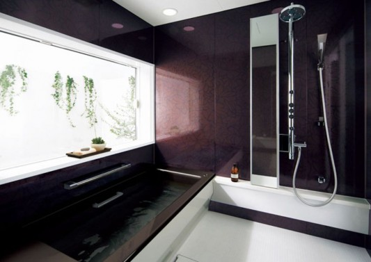 elegant small modern bathroom concept