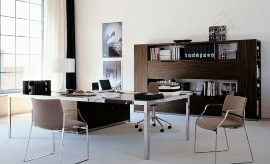 executive office design with executive furniture