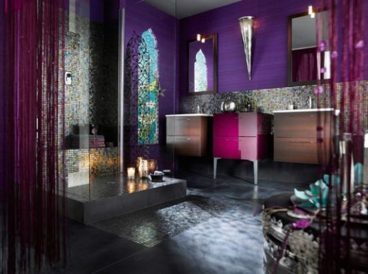 Exceptional Exotic Bathroom Furniture Decor Ideas Maroccan Style