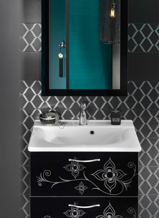 Exotic Contemporary Bathroom Furniture And Decorating