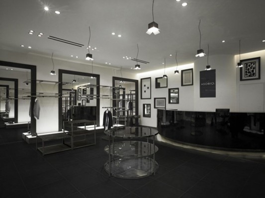 fashion shop interior lighting design