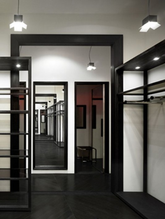 fashion shop interior partition ideas