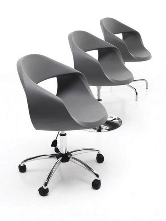 formal modern and comfortable office chair design by sintesi