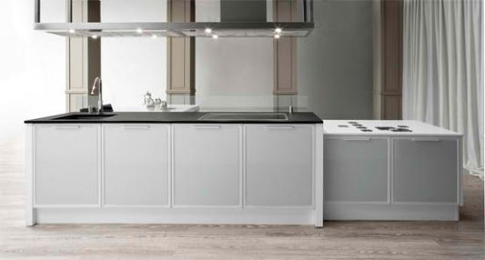 frames inventive kitchen white elegant
