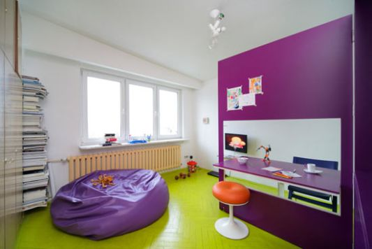 small colorful apartment interior decoration tamka apartment by