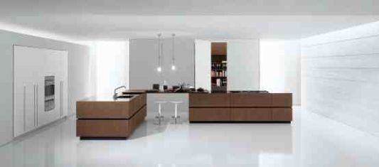 functional modern Italian kitchen interior