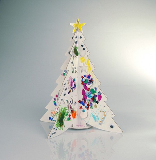 funny and fresh Christmas tree design