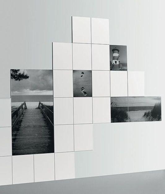 futuristic glass tiles desig beach motifs