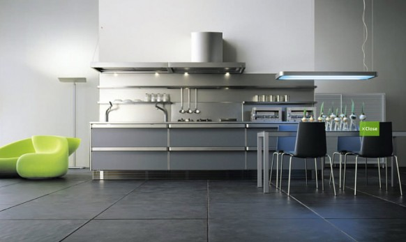futuristic kitchen design ideas