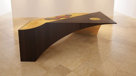 futuristic kitchen table furniture design