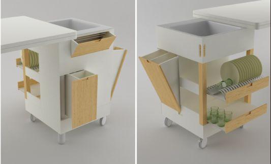 Table For Small Kitchen. Mil E Uma Utilidades Da Mo Francesa. Diy