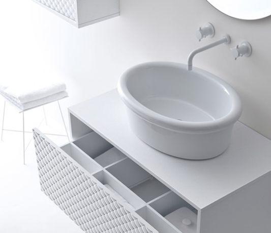 glamorous white coco washbasin with storage