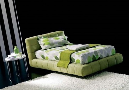green apollo contemporary single bed with beautiful motifs