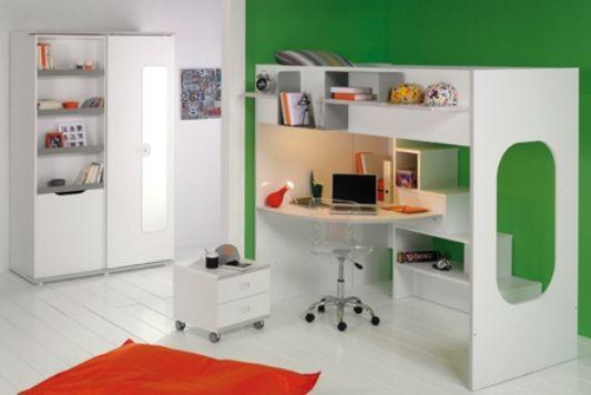 green color child room design