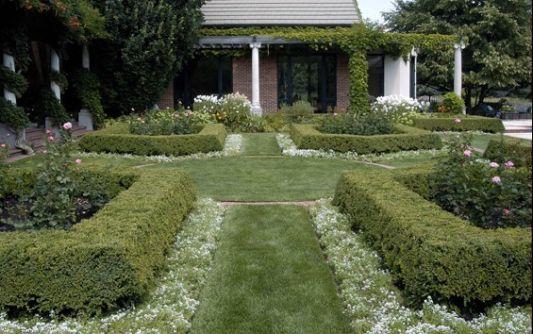 Green Gardens Design Modern Farm House